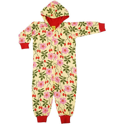 Duns Rosehip Hooded Lined Suit