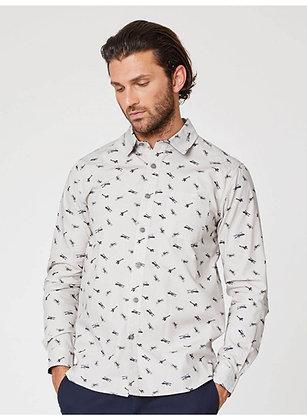 Thought Mens Organic Cotton Aviator Shirt