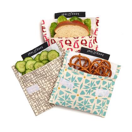 Keep Leaf Baggie Sandwich Bag - Various Designs