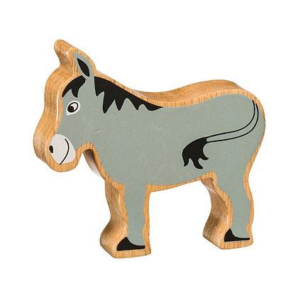 Lanka Kade Natural Wooden Grey Donkey NC113