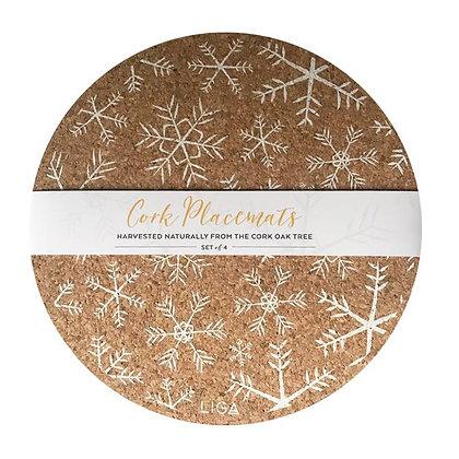 LIGA Cork Placemats & Coasters