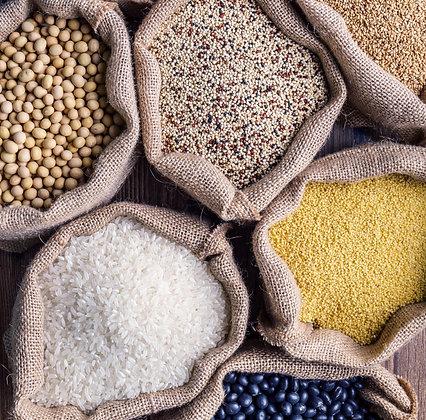 Dried Food Refills - Pasta, Grains, Pulses - per 100g