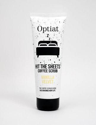 Optiat 'Hit The Sheets' Vanilla Velvet Coffee Scrub 220g