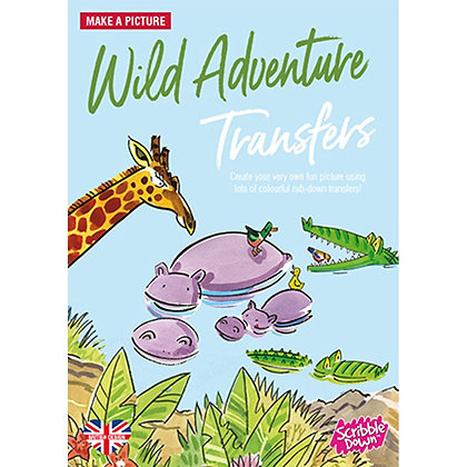 Scribble Down Transfers - Wild Adventure