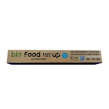 Compostable Cling Film Bio Food Wrap - 30m