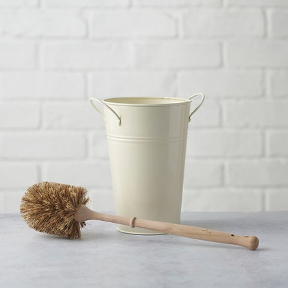 Eco Living Plastic Free Toilet Brush & Holder Set