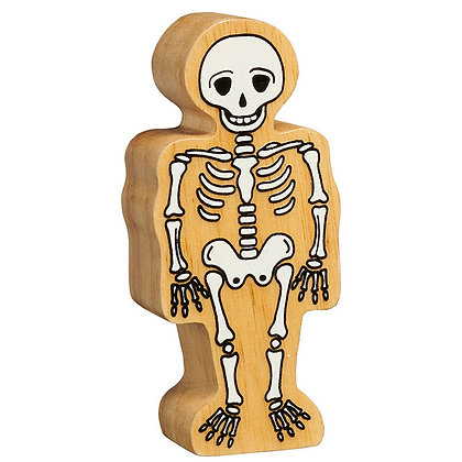 Lanka Kade Natural Wooden White Skeleton NC604
