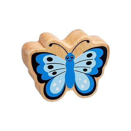 Lanka Kade Natural Wooden Blue Butterfly NC193