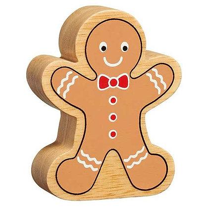 Lanka Kade Christmas - Natural Wooden Gingerbread Man