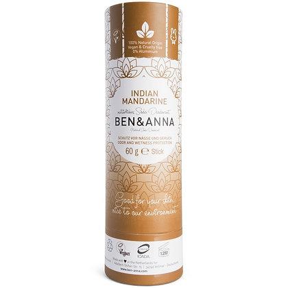 Ben & Anna Natural Deodorant - Indian Mandarine