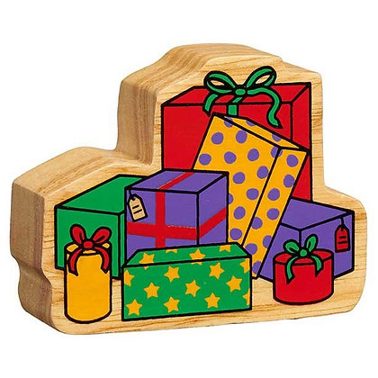 Lanka Kade Christmas- Natural Wooden Christmas Present Stack
