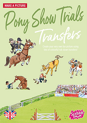 Scribble Down Transfer Pack - Pony Show
