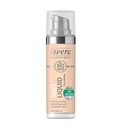 Lavera Soft Liquid Foundation - 4 Shades