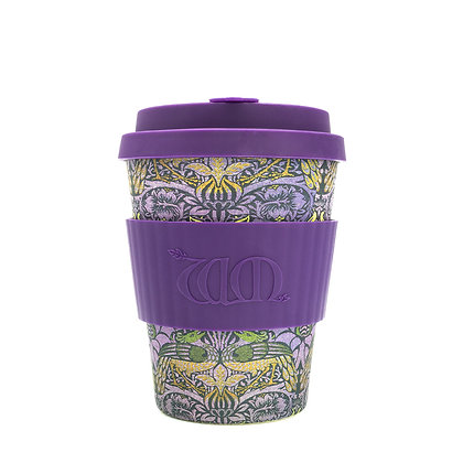 Ecoffee Cup 12oz Reusable Coffee Cup - William Morris Designs