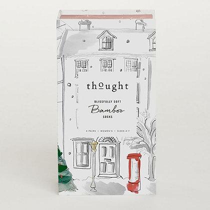 Thought Ladies Sock Gift Box - Christmas Treats