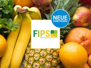 FIPS - Neue Funktionen für Ihre Mengen-, Bestell-, Transport-, und Reifeplanung