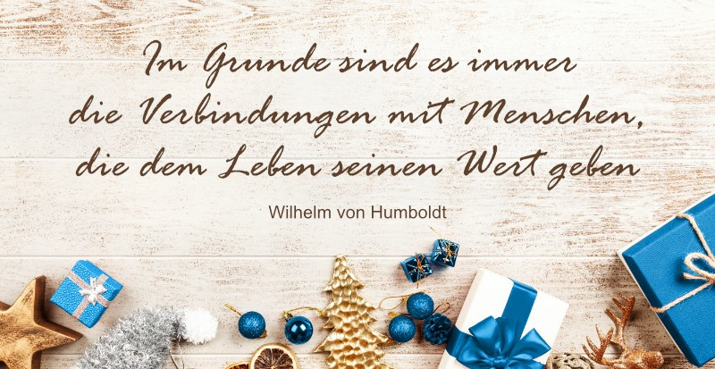 Zitat Wilhelm von Humboldt