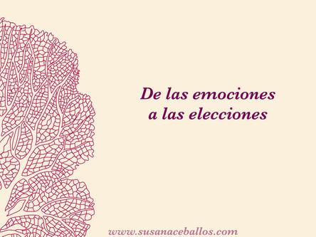De las emociones a las elecciones