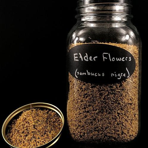 Elder Flowers  ORGANIC   (Sold per ounce