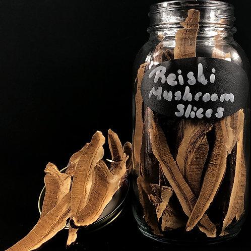 Reishi Mushroom Slices   ORGANIC   (Sold per ounce)