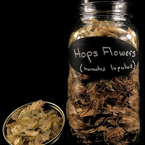 Hops Flowers   ORGANIC   (Sold per ounce)