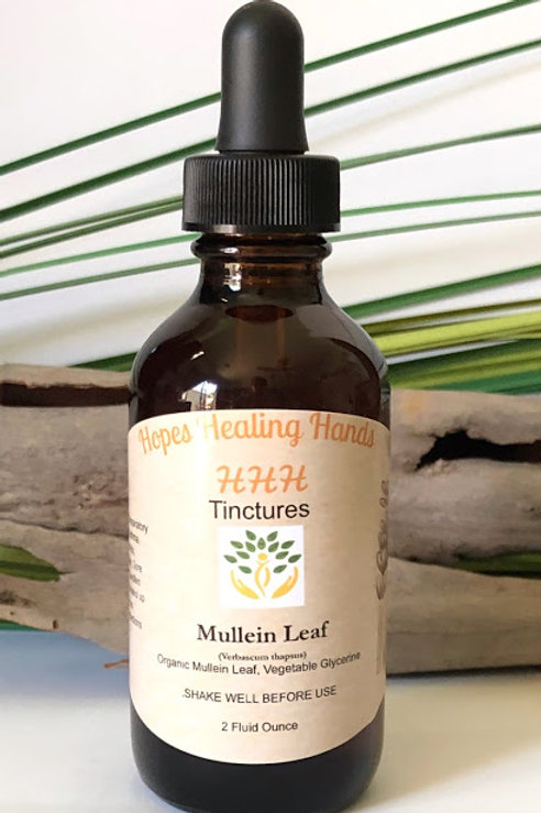 Mullein Tincture with Glycerin  Organic 2 OZ
