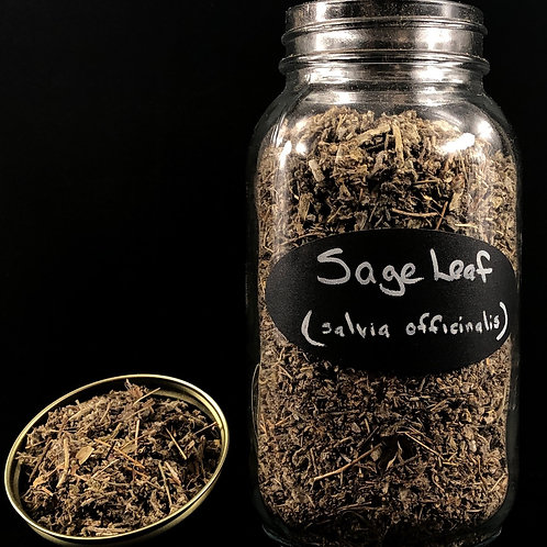 Sage Leaf  ORGANIC   (Sold per ounce)