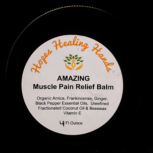 Amazing Muscle Pain Relief Balm - 4 ounce
