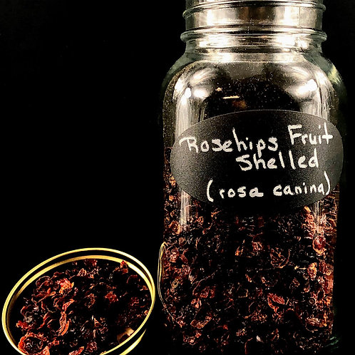 Rose Hips Fruit Shelled  ORGANIC   (Sold per ounce)