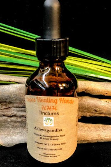 Organic Ashwagandha Tincture  2 Ounce