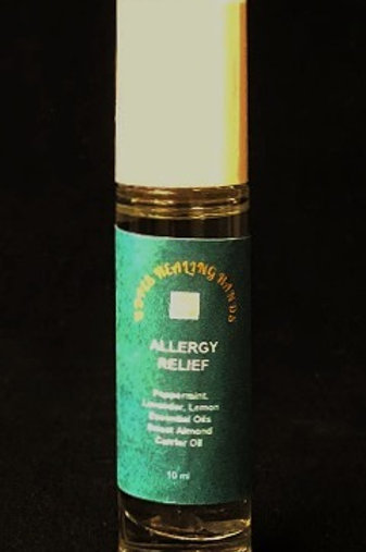 Allergy Relief Organic Essential Oil Blend 10 ml Roll-On