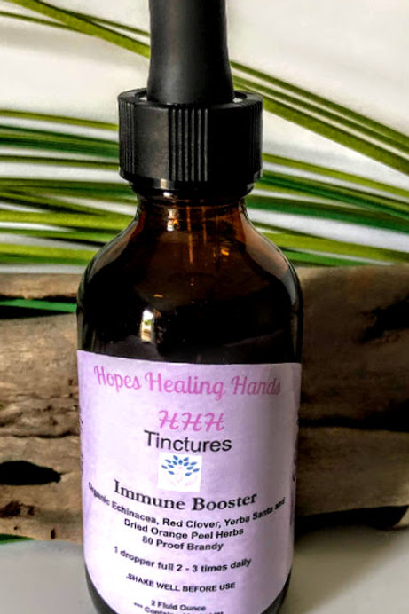 Immune Booster Tincture -- Brandy  Organic   2 ounce