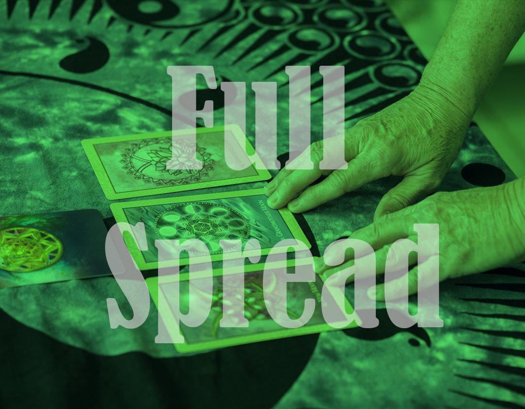 Full Spread Reading (Angel & Oracle)