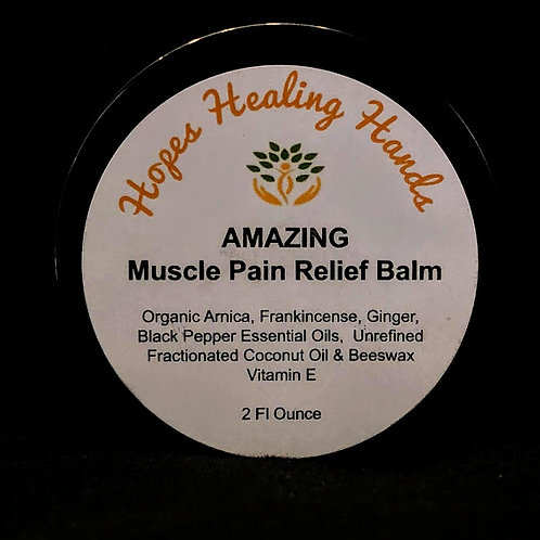 Amazing Muscle Pain Relief Balm - 2 ounce