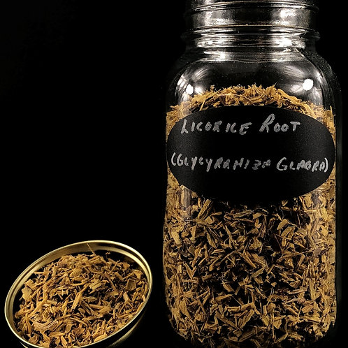 Licorice Root   ORGANIC  (Sold per ounce)