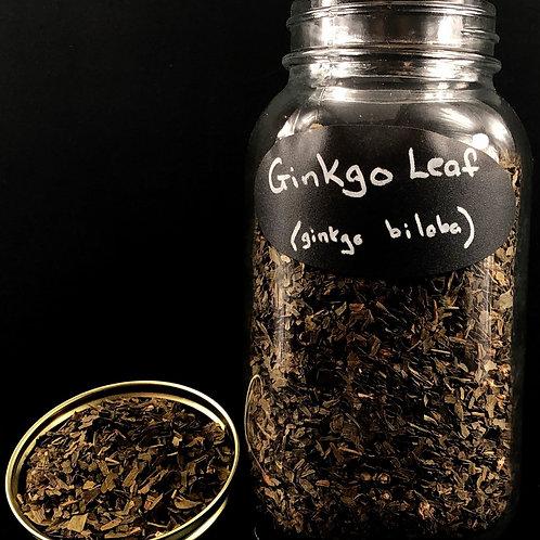 Ginko Leaf  ORGANIC   (Sold per ounce)