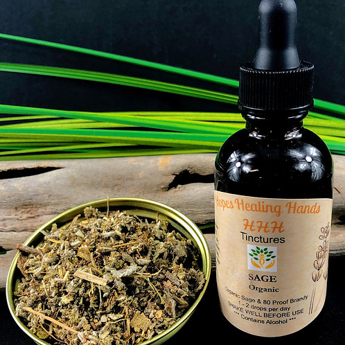 Sage Tincture with Vodka 2 Ounce