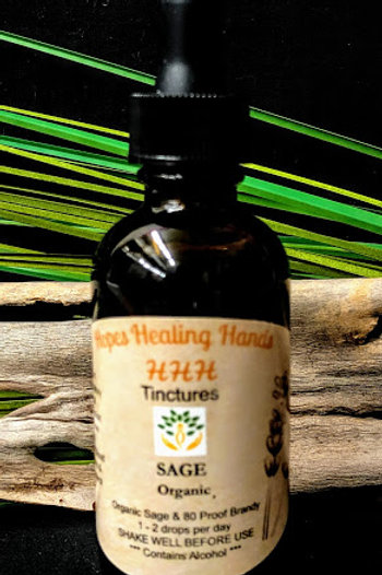 Sage Tincture with Brandy 2 Ounce
