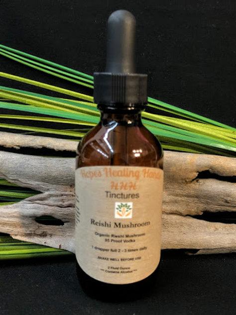 Organic Reishi Mushroom  Tincture  2 Ounce