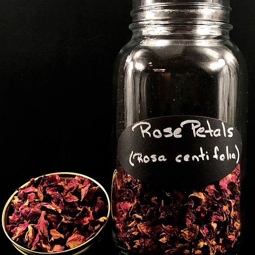 Rose Petal Leaves ORGANIC   (Sold per ounce)