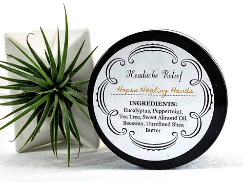 Headache Relief Balm  2 oz.
