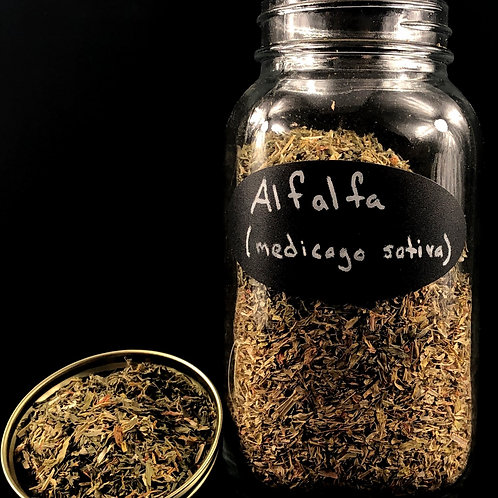 Alfafa Leaves  ORGANIC     (Sold Per Ounce)