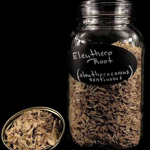 Eleuthero Root  ORGANIC   (Sold per ounce)