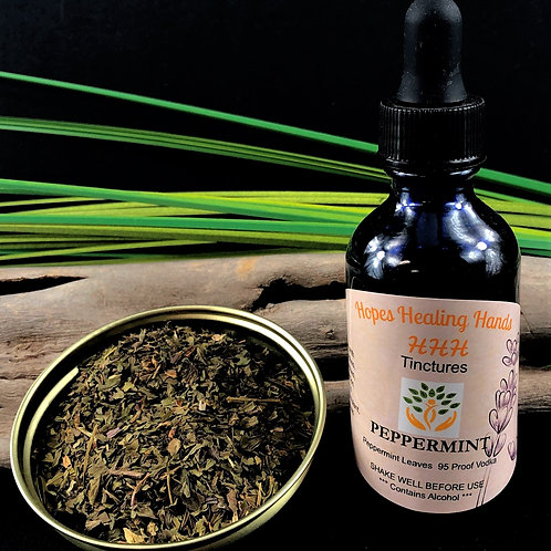Peppermint Tincture  2 Ounce