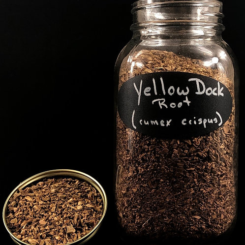 Yellow Dock Root  ORGANIC   (Sold per ounce)