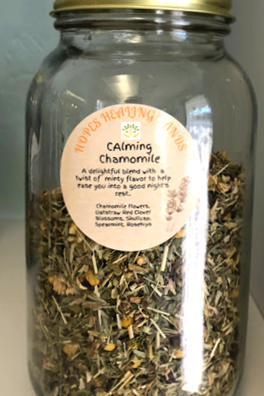 Calming Chamomile Herbal Tea
