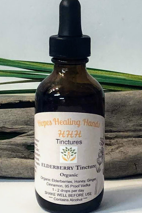 Elderberry Syrup Tincture  2 Ounce