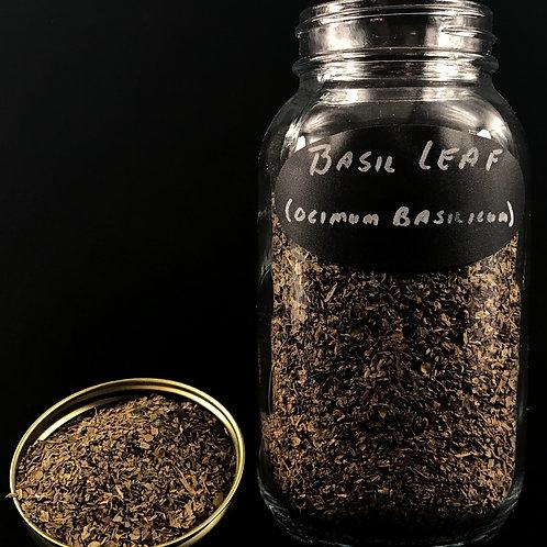 Basil Lea   ORGANIC   (per ounce)