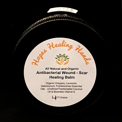 Antibacterial Wound and Scar Healing Balm   4 ounce - 4 ounce