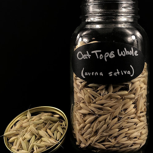 Oat Tops Whole  ORGANIC   (Sold per ounce)
